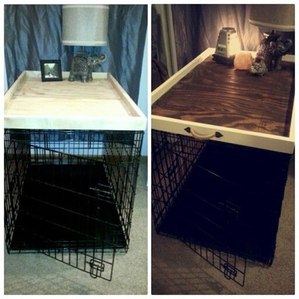 40 comfy large dog crate ideas 27 - Dog Crate Ideas