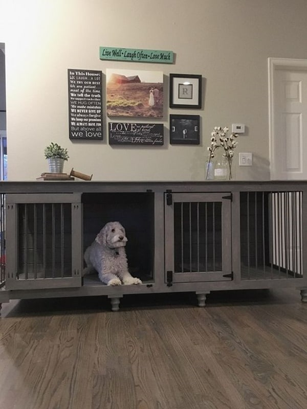Kennel Style Dog Bed