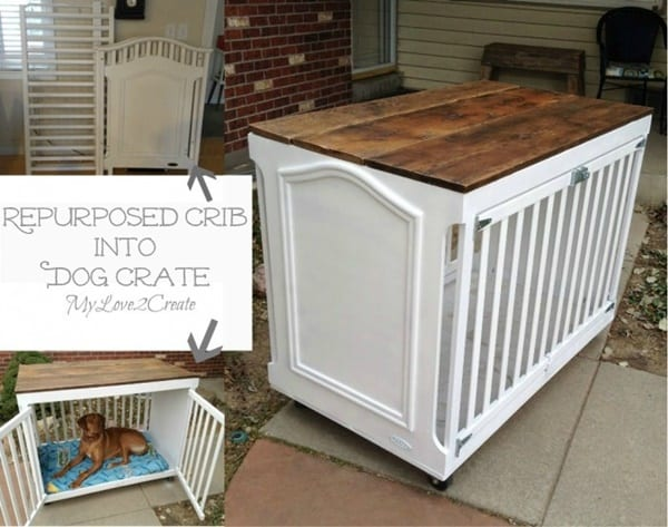 Dog Crate Desk