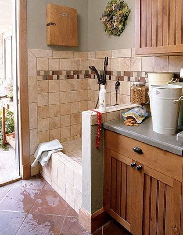 40 Easy Dog Wash Area Ideas 24