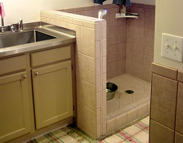 40 Easy Dog Wash Area Ideas 34