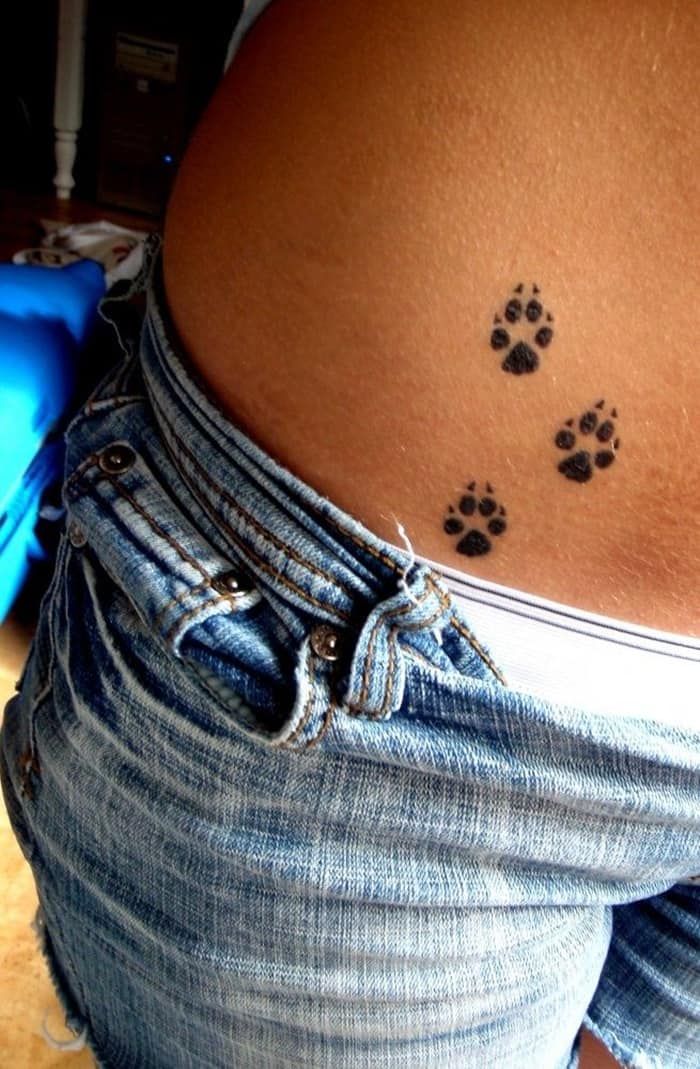 dog paw tattoo (11)