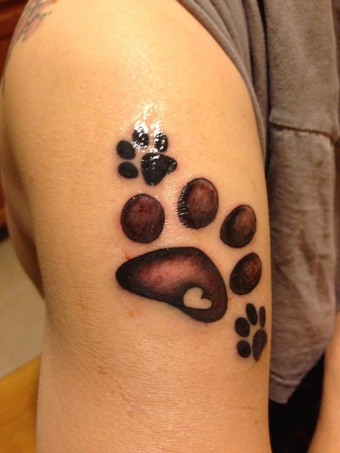 dog paw tattoo (16)