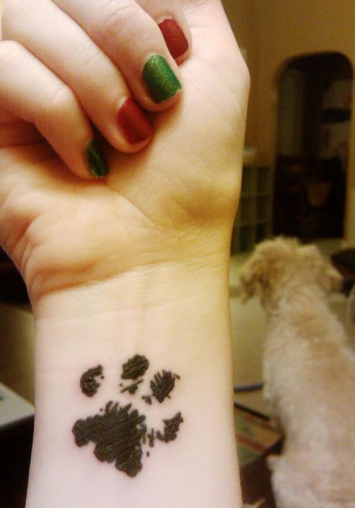 dog paw tattoo (17)
