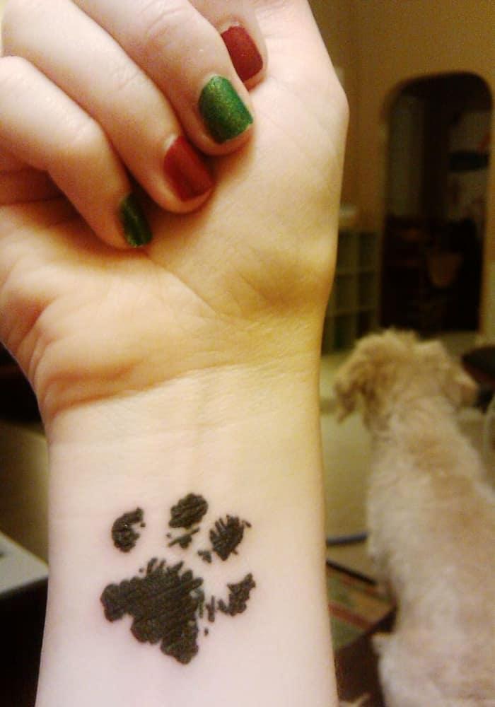 dog paw tattoo (17)
