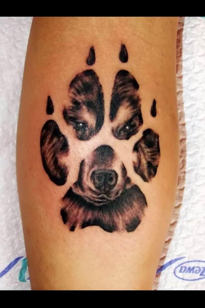 dog paw tattoo (6)