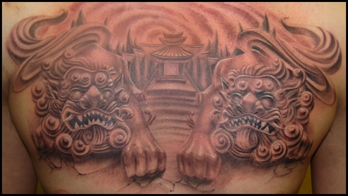 foo dog tattoo (24)