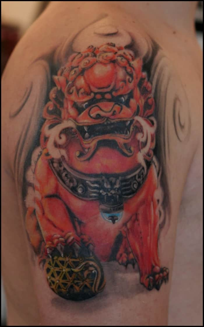 foo dog tattoo (28)