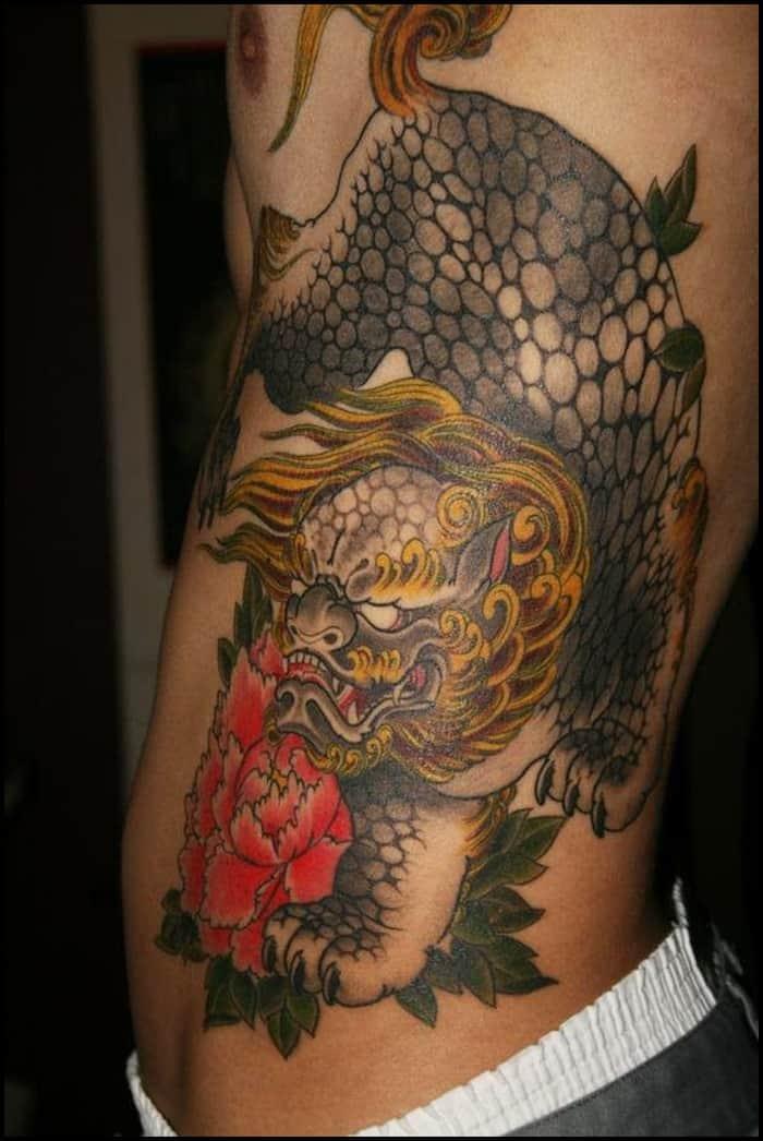 foo dog tattoo (4)