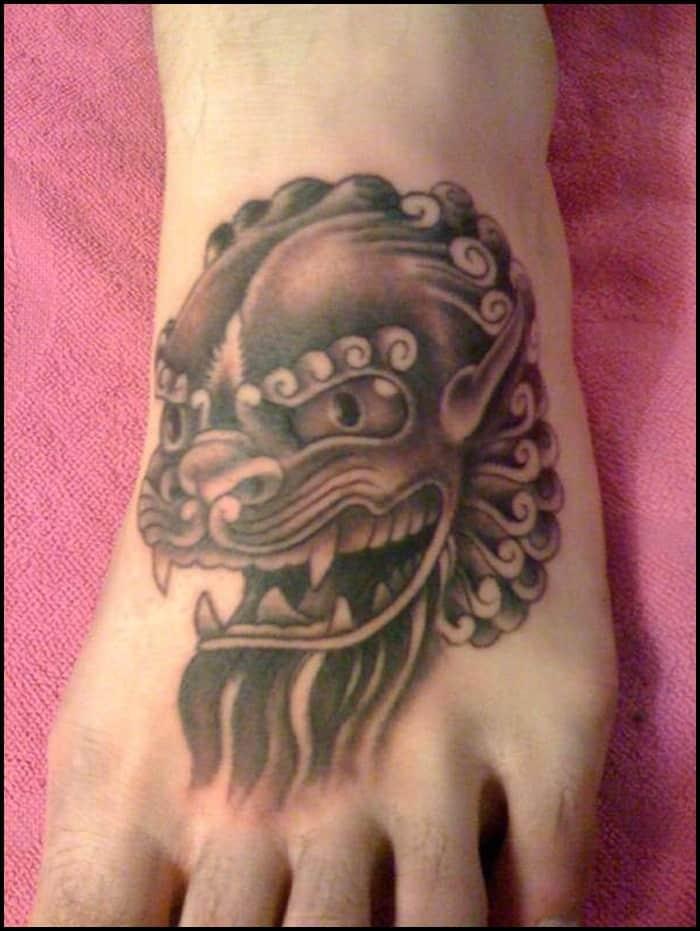 foo dog tattoo (6)