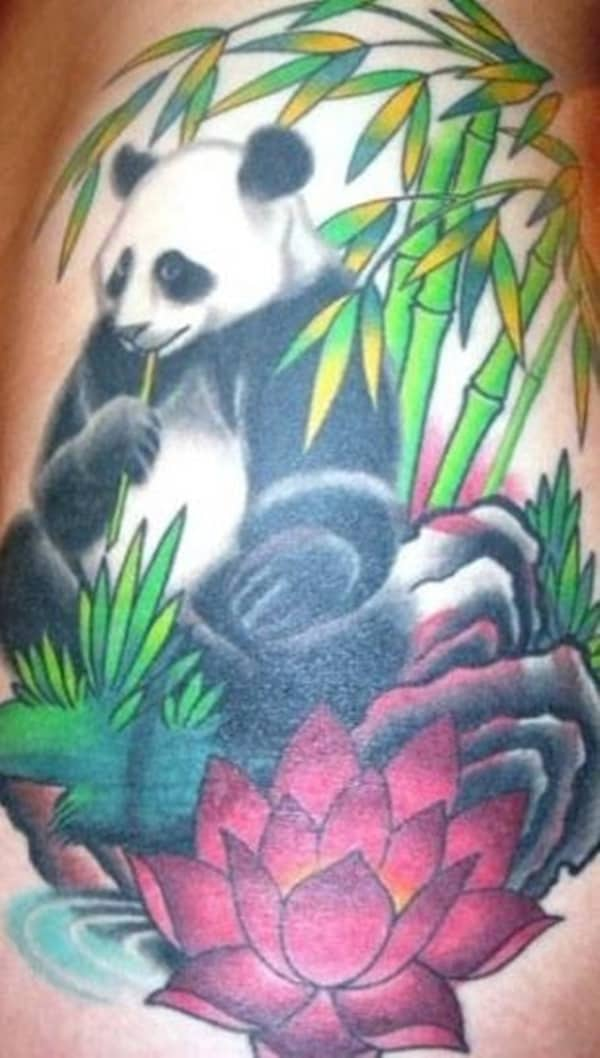 40 Dashing Panda Bear Tattoos And Their Meaning Page 2 Of 4 Tail