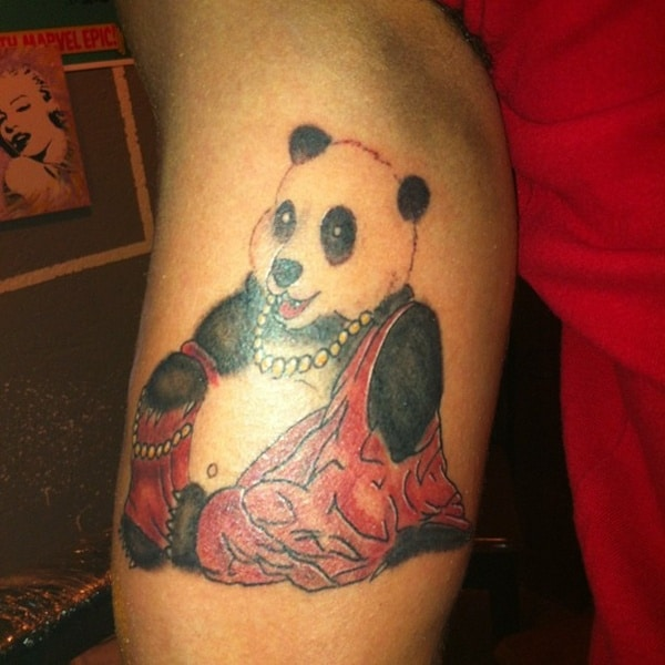 40 Dashing Panda Bear Tattoos And Their Meaning Tail And Fur