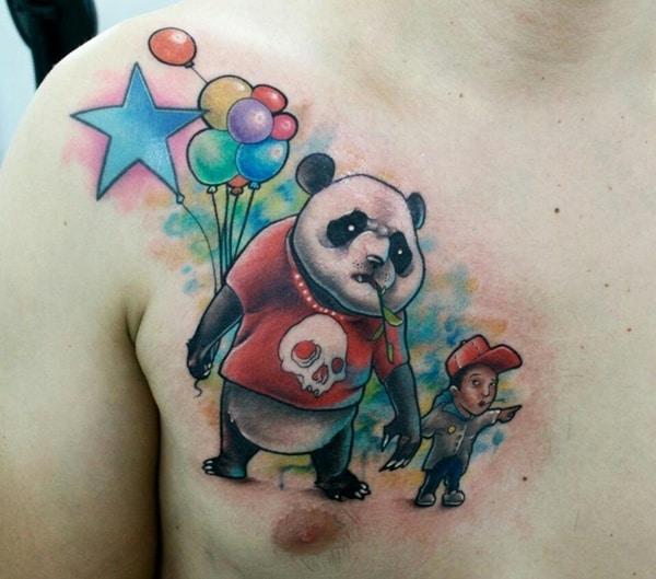 panda tattoo (6)