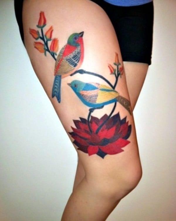 Birds Tattoo (13)