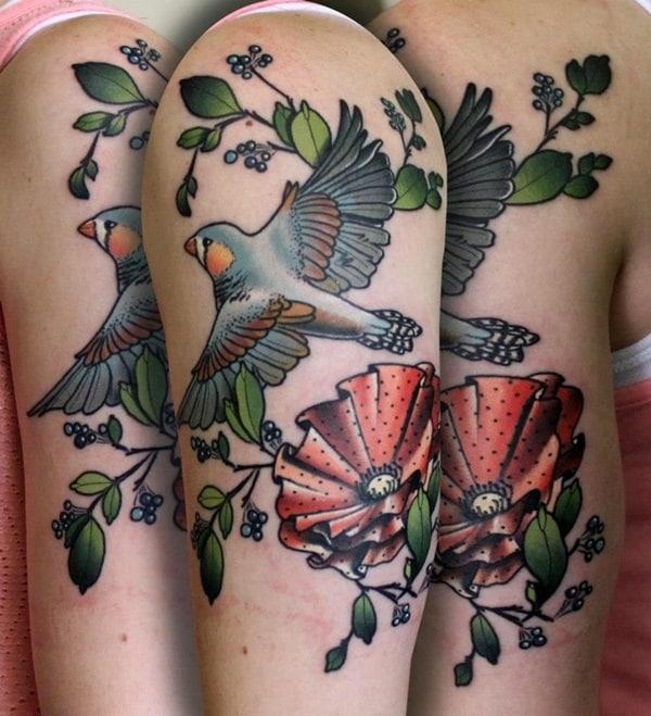 Birds Tattoo (25)