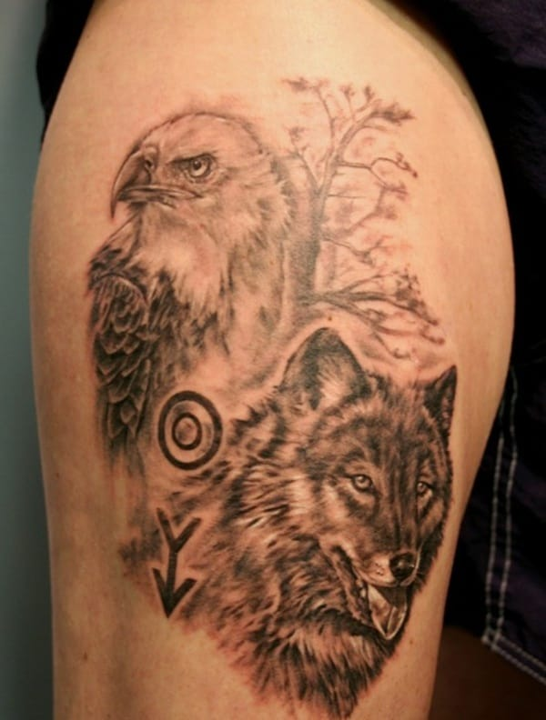 animasl wildlife tattoo (1)