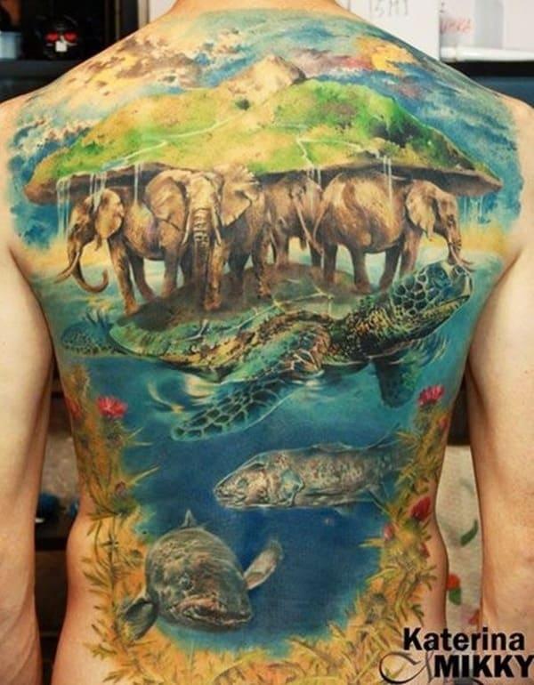 animasl wildlife tattoo (19)