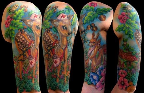 animasl wildlife tattoo (36)