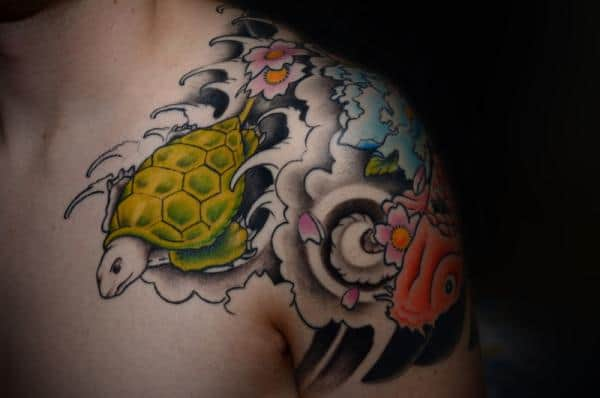 80 simple and small sea turtle tattoos design with meanings. Black Bedroom Furniture Sets. Home Design Ideas