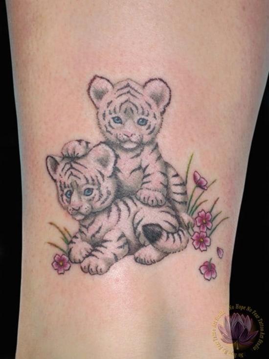 cute baby animals tattoo (15)