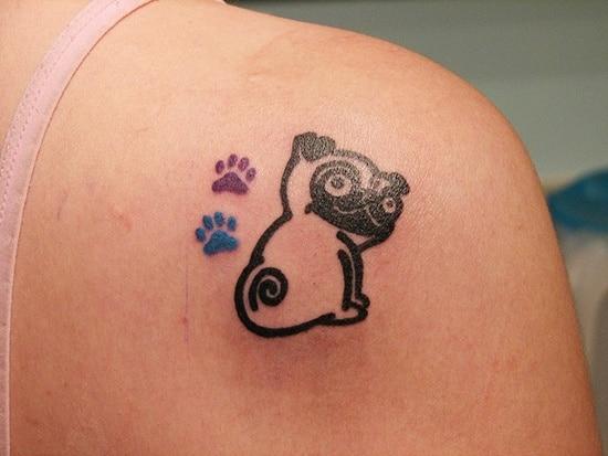 cute baby animals tattoo (17)