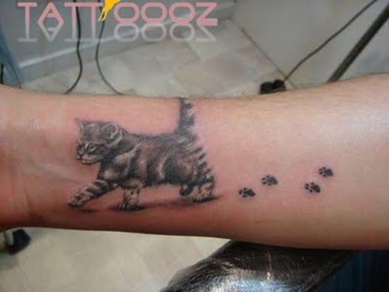 cute baby animals tattoo (24)