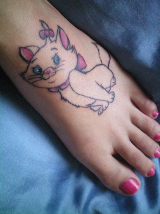 cute baby animals tattoo (27)