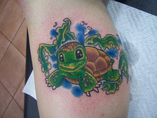 cute baby animals tattoo (29)
