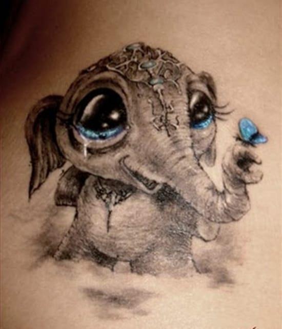 cute baby animals tattoo (30)