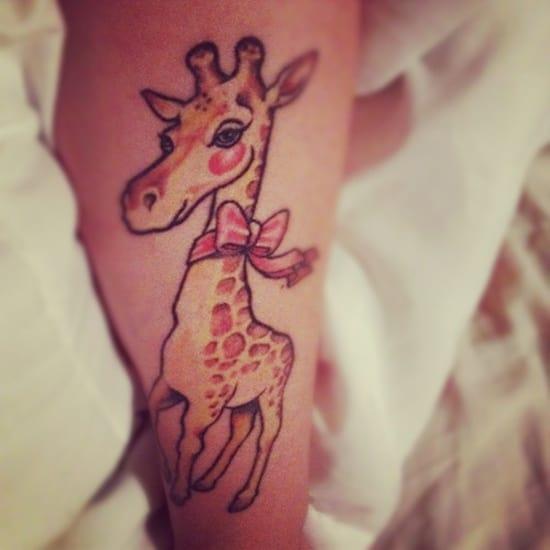 cute baby animals tattoo (35)