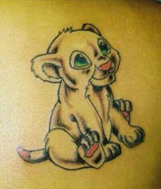 cute baby animals tattoo (6)