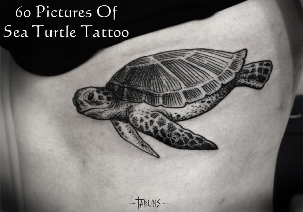9efc0d47a3bad 80 Simple and Small Sea Turtle Tattoos Design with Meanings