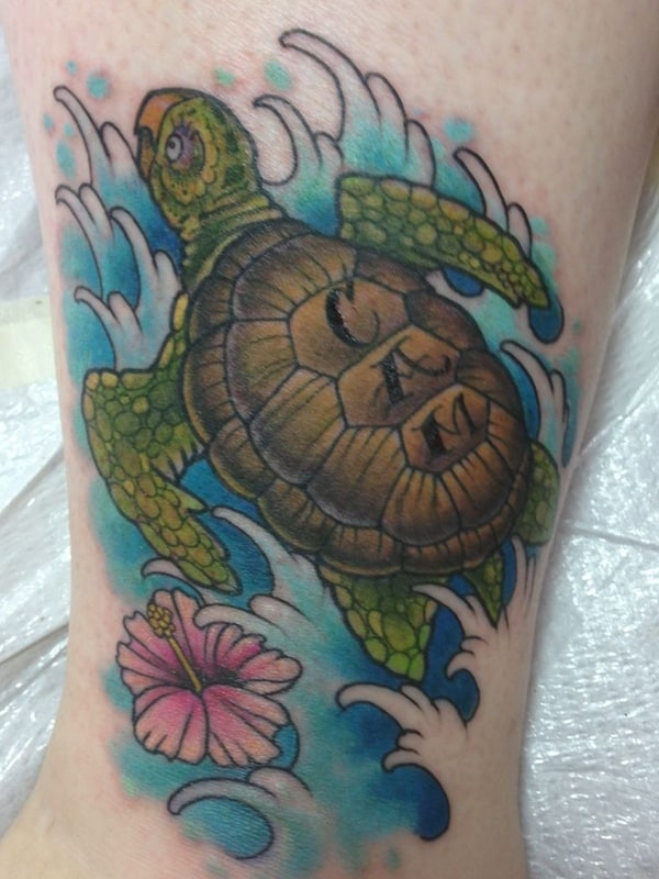 sea turtle tatoo (7)