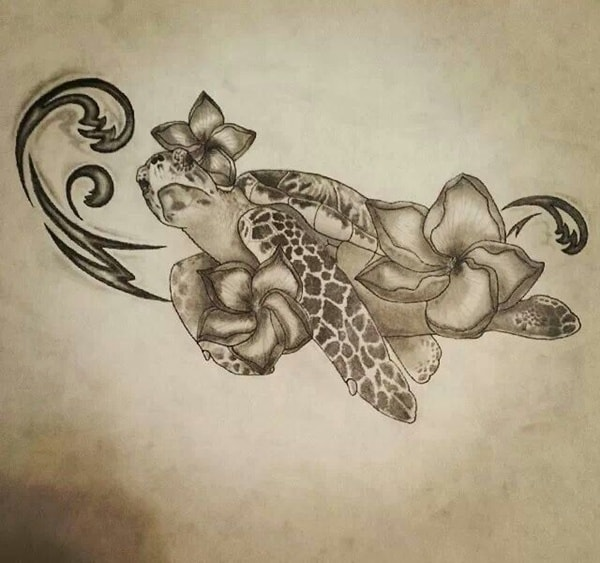 sea turtle tatoo (9)
