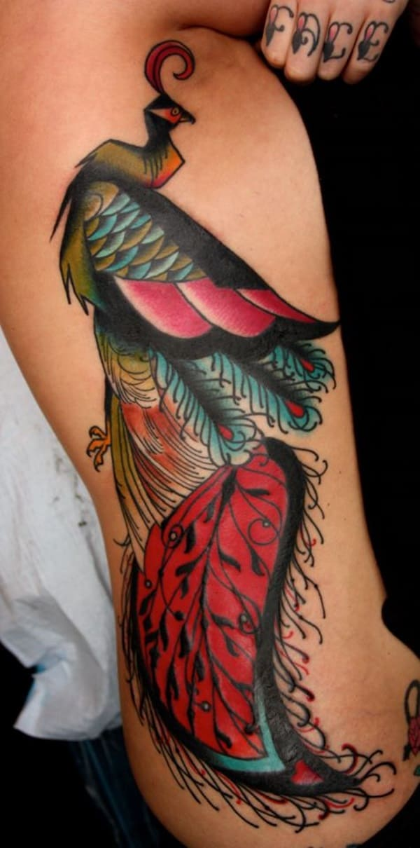 Pictures of Peacock Tattoos (1)