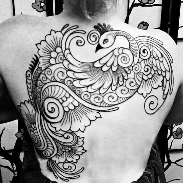 Pictures of Peacock Tattoos (11)
