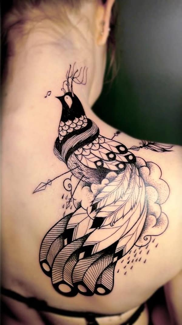 Pictures of Peacock Tattoos (13)