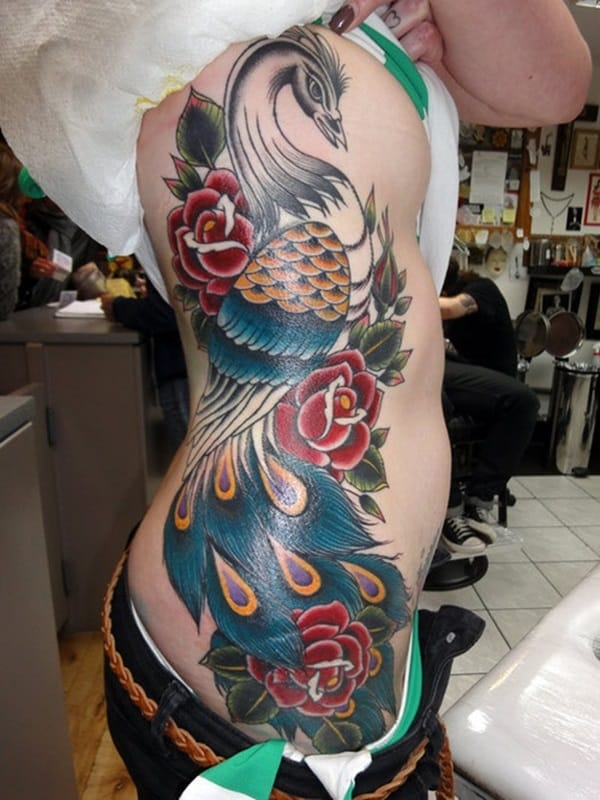 Pictures of Peacock Tattoos (24)