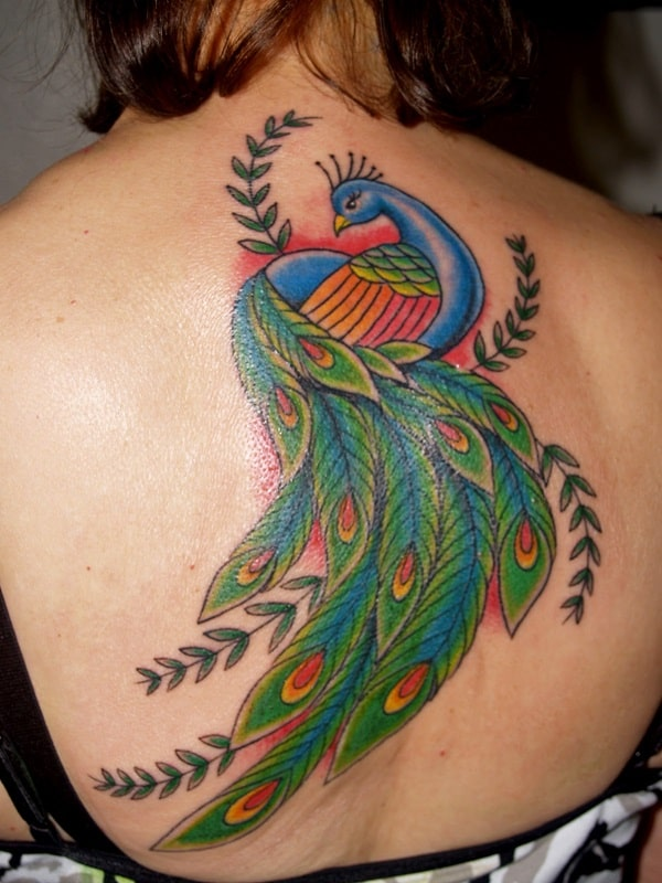 Pictures of Peacock Tattoos (5)