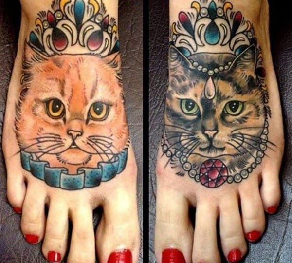 40 Excellent Cat Tattoo Designs and Inspirations17