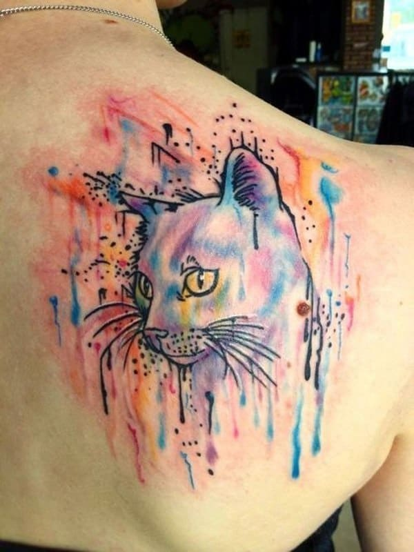 40 Excellent Cat Tattoo Designs and Inspirations22