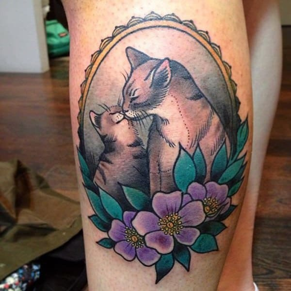 40 Excellent Cat Tattoo Designs and Inspirations28