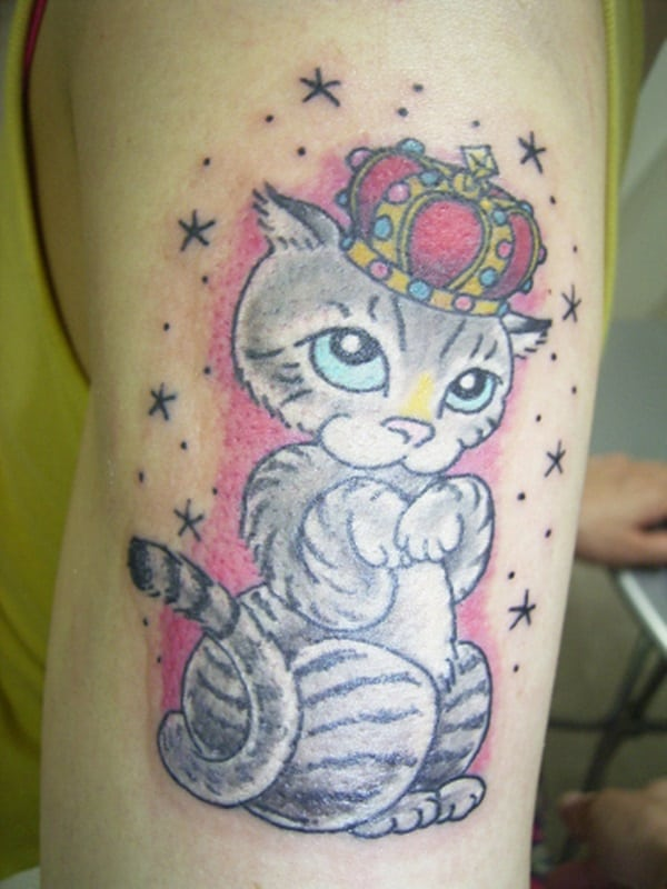 40 Excellent Cat Tattoo Designs and Inspirations31