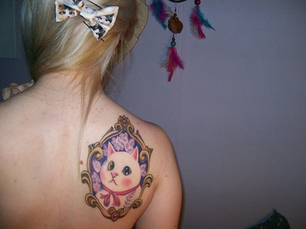 40 Excellent Cat Tattoo Designs and Inspirations35