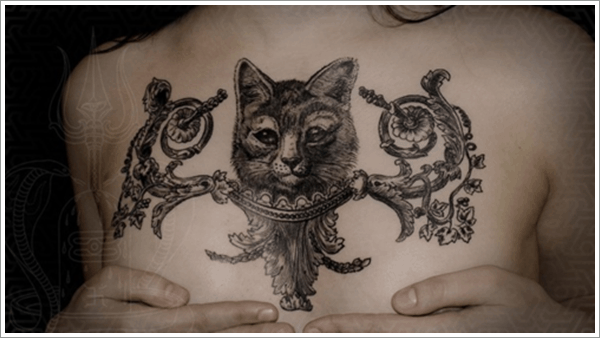 40 Excellent Cat Tattoo Designs and Inspirations40