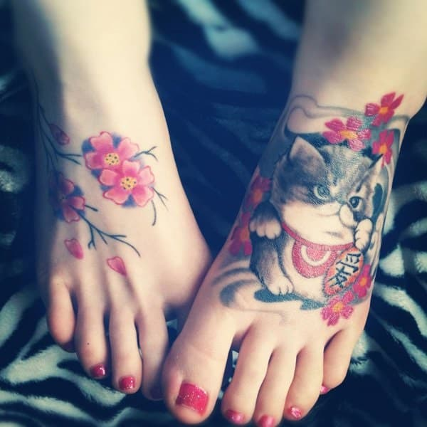 40 Excellent Cat Tattoo Designs and Inspirations8