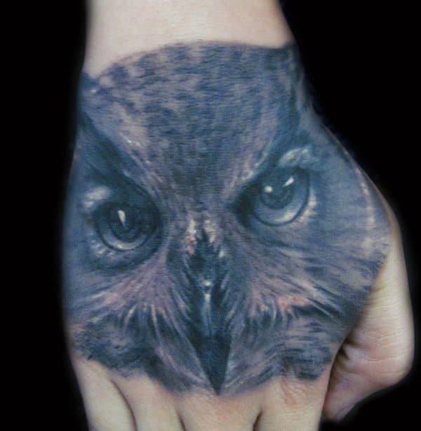 40 Cute Traditional Owl Tattoos (24)