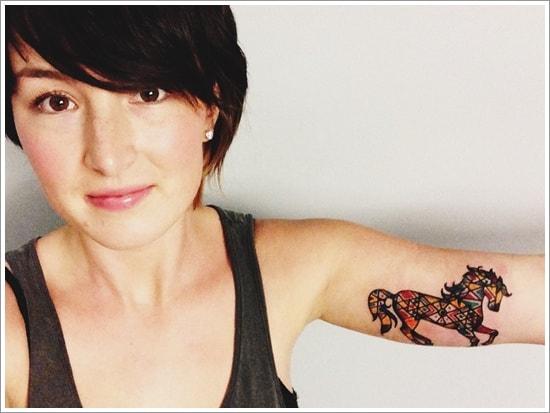 40 Horse Tattoo Designs (5)