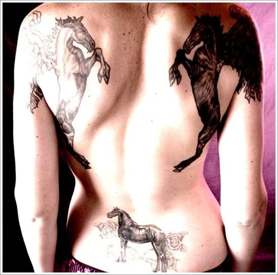 40 Horse Tattoo Designs (8)
