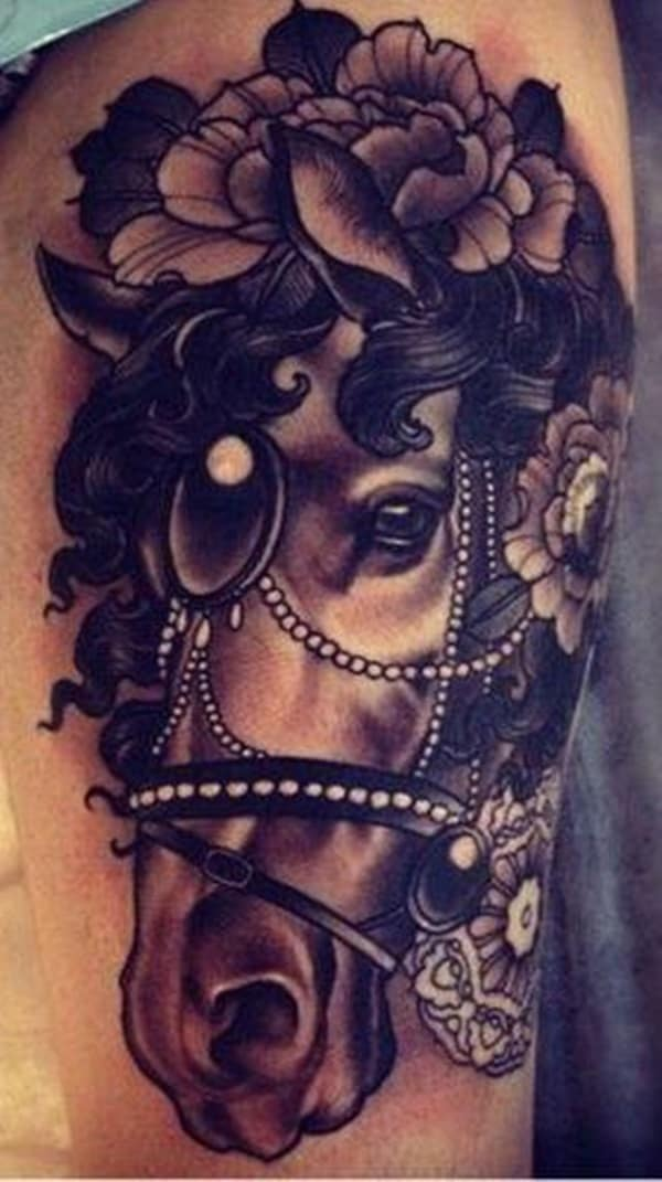 Amazing Horse Tattoo (23)
